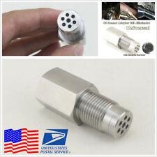Check Engine Light Fix O2 Sensor Eliminator Adapter Spacer w/Catalytic Converter