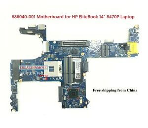 Details about 686040-001 QM77 Motherboard for HP EliteBook 14
