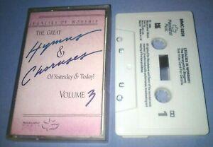 THE-MARANATHA-SINGERS-LEGACIES-IN-WORSHIP-cassette-tape-album-F49