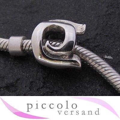 Fine Jewelry Neu Piccolo Buchstabe Q Silber Bead Jewelry & Watches Apgl-q