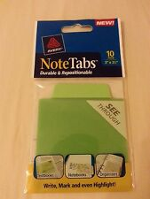 10 Avery Notetabs Tabs Amp Flags Durable Amp Repositionable School File 3x3 12
