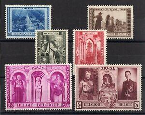Belgica-Serie-Completa-De-6-Sellos-Nueva-N-513-518-Valor
