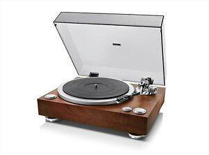DENON-Analogue-record-player-Wooden-DP-500M-Direct-Drive-Turntable-Japan-NEW