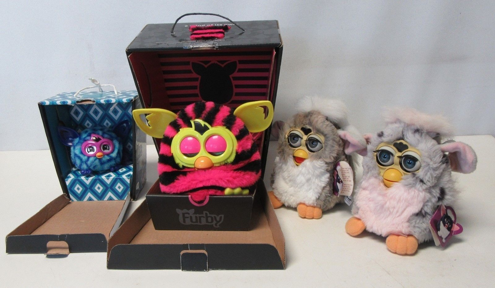 Furby Lot Models Boom & Furblings & 70-800 Original Vintage Current All Work