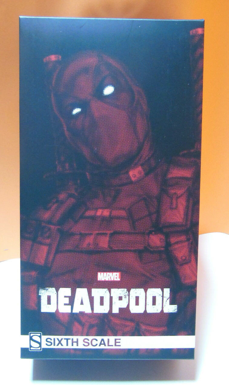 Deadpool 1 6 Action Figure 12  collector's ed. Sideshow art. 100178 Nuovo