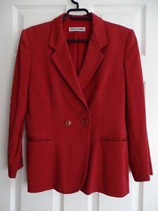 Size blazer Emporio 10 Red Armani Ladies Jacket PWRHPzXnwq
