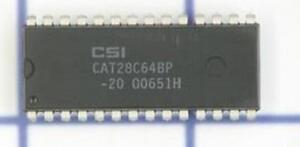 CSI-CAT28C64BP-20-DIP-x8-EEPROM