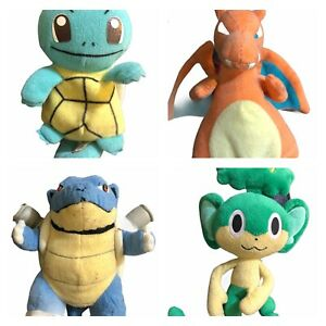 POKEMON-Beanie-Pansage-Squirtle-Charizard-Bulbasaur-Plush-Morbido-Giocattolo-Ty-cartoni-animati