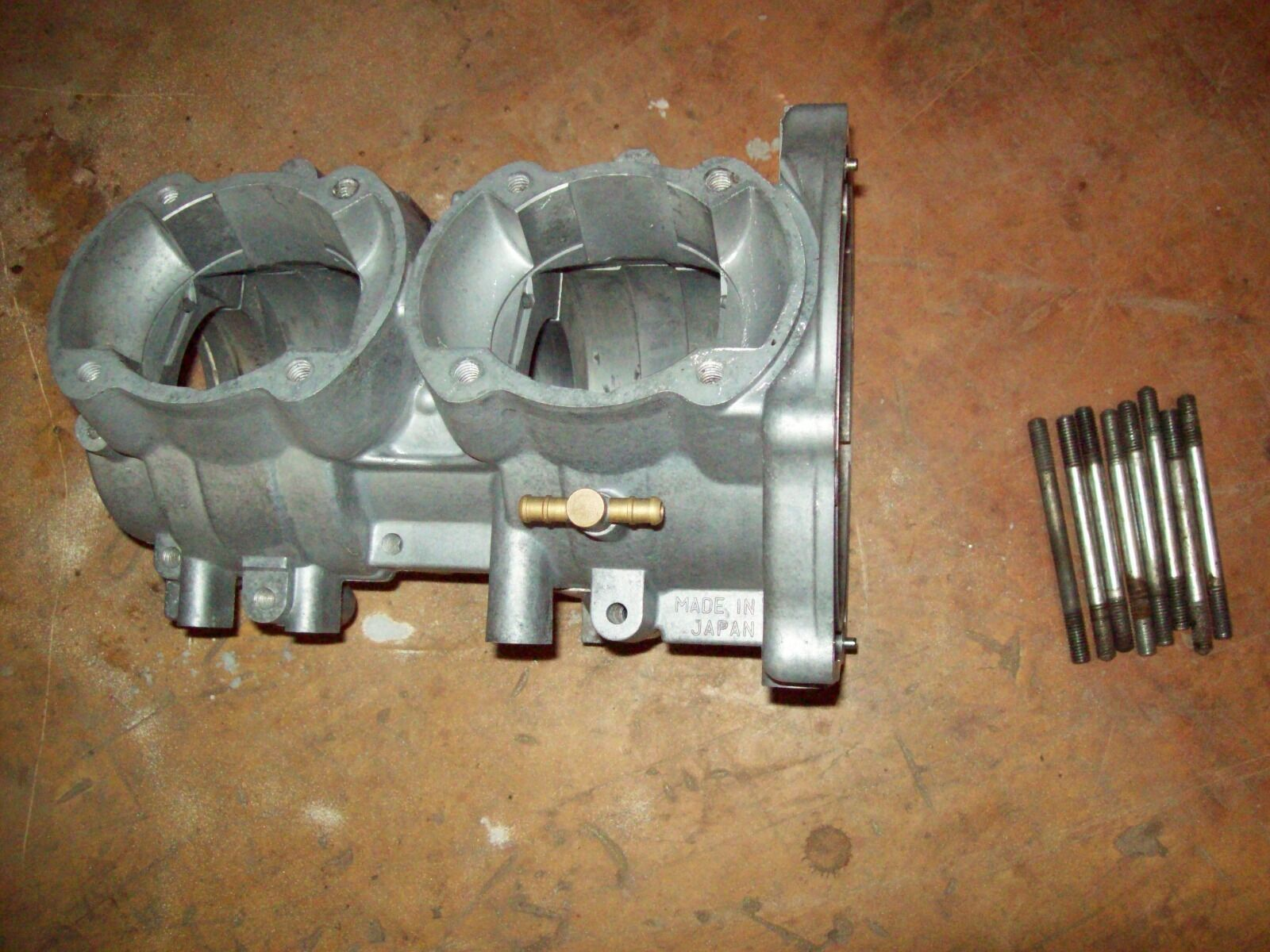 Vintage Yamaha Snowmobile Crankcase Restored 1971 SS  433 SR 433 GP 396 SW 396  the classic style