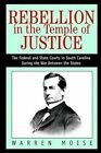 Rebellion in The Temple of Justice Moise iUniverse Paperback 9780595295753