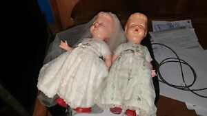2-vintage-blue-eyes-celluloid-dolls-1940s-original-clothes-EVERGREEN-Hong-Kong