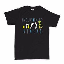 Evolution of An Alien Sci-Fi Predator T shirt Tshirt Tee