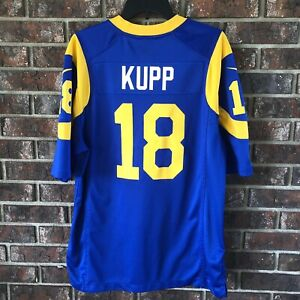 sports shoes 5c04f d80ed Details about Cooper Kupp Nike On Field Los Angeles Rams Jersey