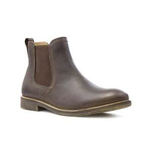 Red-Tape-Mens-Brown-Leather-Chelsea-Boot-Sizes-7-8-9-10-11-12