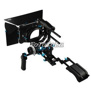 Fotga-Pro-DSLR-follow-focus-15mm-rod-rail-matte-box-shoulder-support-rig-kit-set