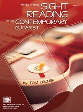 MEL BAY SIGHT READING IMPROVE CONTEMPORARY Learn to Play Guitar Music Book TUTOR
