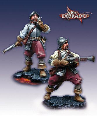 Hell Dorado Miniatures - Westerners: Grenadiers  HD7011