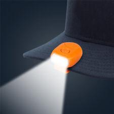 Eg /_ Clip On 11 LED Kopf Kappe Hut Licht Lampe Scheinwerfer Außen Camping Angel