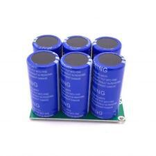 6pcs 27v 120f Super Farad Capacitor Double Row With Protection Board 16v 20f