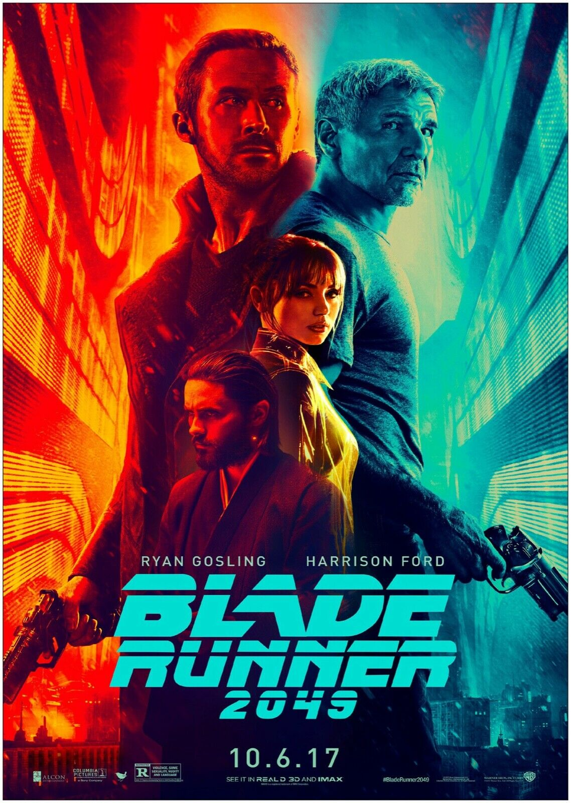 Blade Runner 2049 Movie Large CANVAS Art Print A0 A1 A2 A3 A4