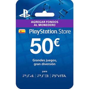 Sony- tarjeta prepago 50 (PlayStation) - Ranajuegos
