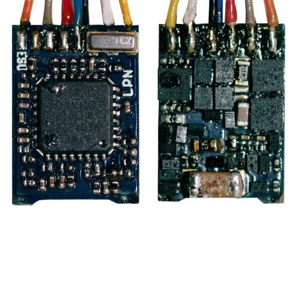 ESU 54686 2 pezzi LokPilot Micro v4.0, DCC, interfaccia next18 NUOVO OVP