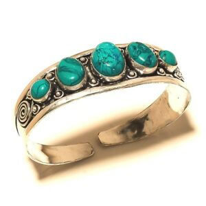 Free-Postage-Silver-Overlay-Turquoise-Cuff-Bangel-Gemstone-Jewelry