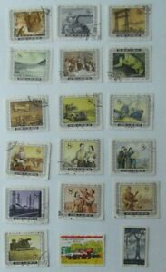 Lote-de-18-antiguos-sellos-China-industria-oficios-Usados-selectos