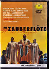 DVD MOZART: DIE ZAUBERFLÖTE Francisco ARAIZA Kathleen BATTLE Serra Moll LEVINE