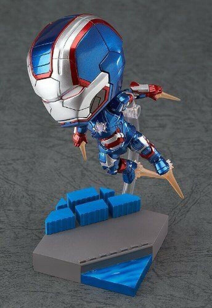 Iron Man 3 Iron Patriot Hero's Edition Marvel Nendoroid Figura de acción