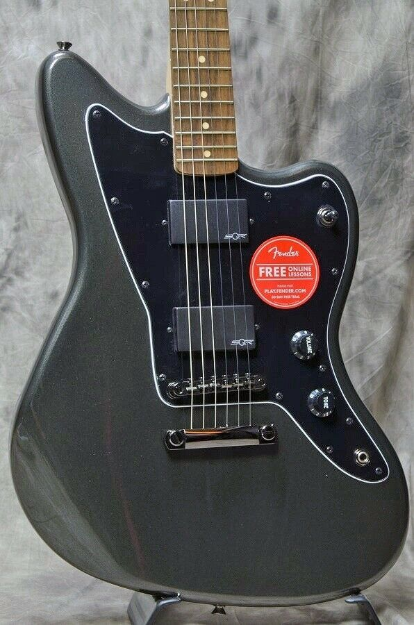 Squier by Fender Contemporary Active Jazzmaster HH Graphite Metallic EMS F S