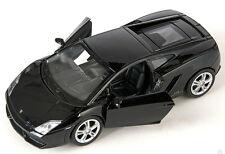 BLITZ VERSAND Lamborghini Gallardo LP 560-4 schwarz Welly Modell Auto 1:34 NEU