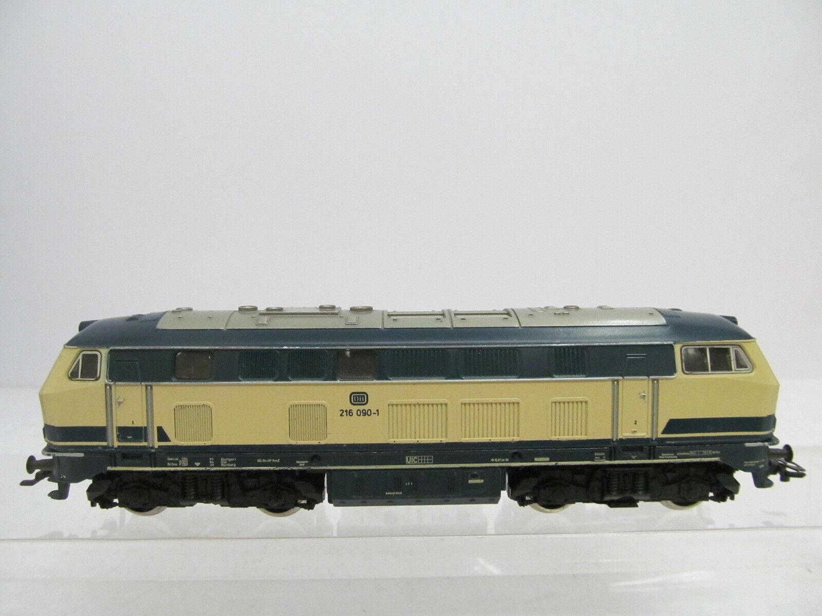 MES-43161 Märklin H0 Diesellok DB 216 090-1 mit leichte Gebrauchsspuren,