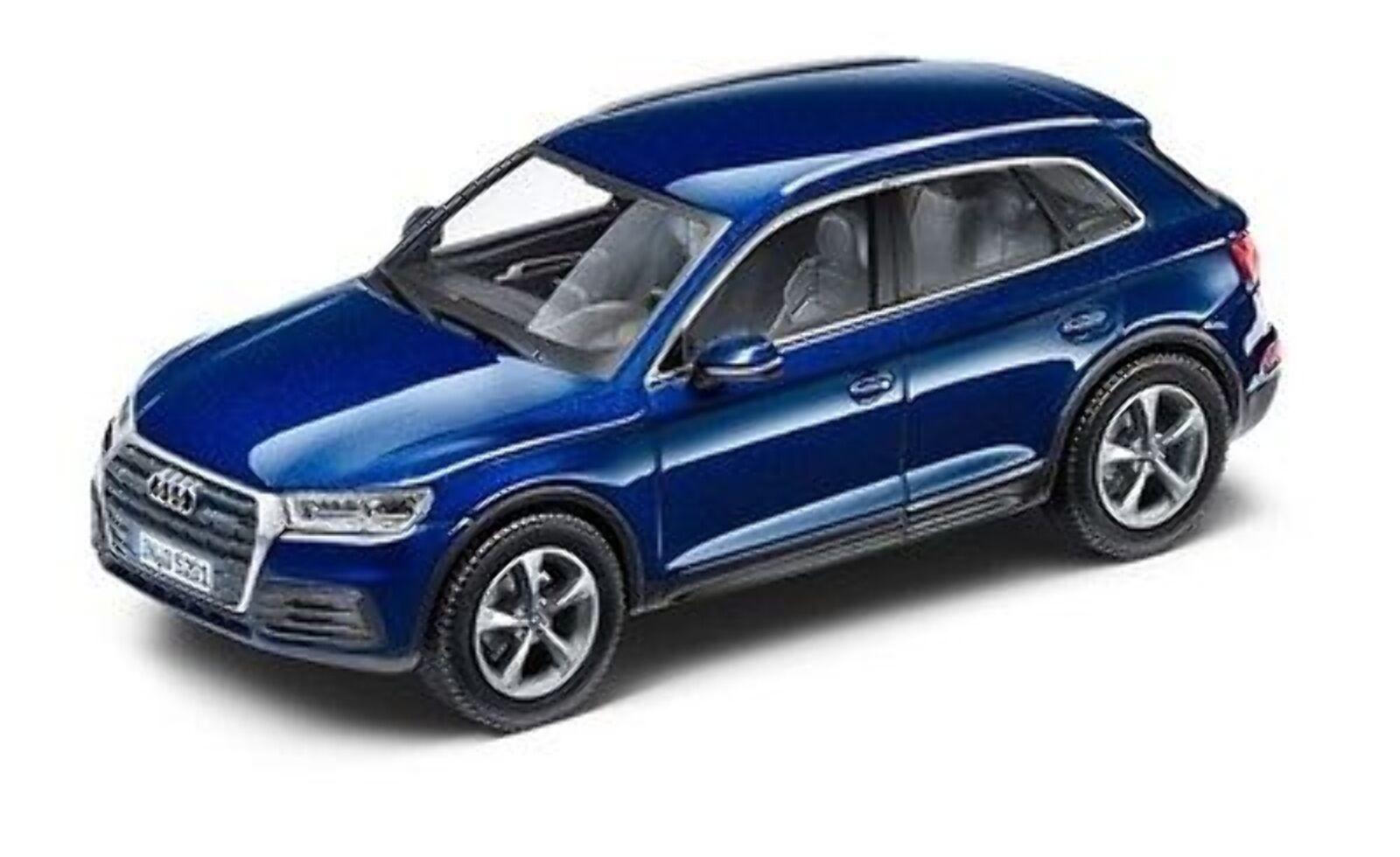 Audi Q5 Model,Navarra bluee,1 43 5011605632