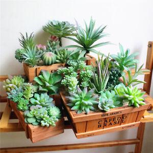 Am-Lovely-Artificial-Flower-Succulent-Plant-Wedding-Party-Home-Desk-Bonsai-Deco