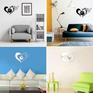 Wall-Clock-Removable-Decal-3D-Art-Acrylic-Mirror-Sticker-Home-Decor-DIY