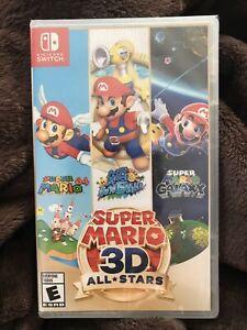 New Super Mario 3D All-Stars + 3 Soundtracks- Nintendo Switch Sunshine Galaxy 64