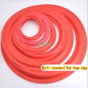 2pcs-4-5-6-5-8-10-12-034-inch-speaker-Red-Foam-edge-Loudspeaker-Foam-Surround-repair