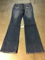 La Idol Distress Young Energy Dark Jean Size M Cotton
