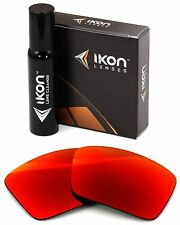 Polarized IKON Iridium Replacement Lenses For Oakley Oil Drum +Red Mirror