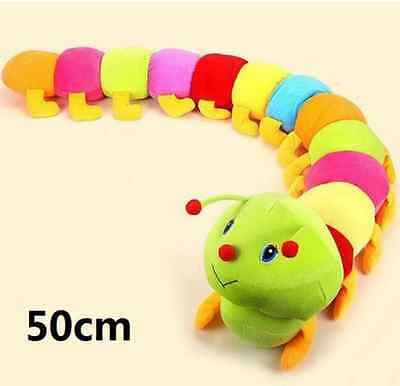 Colorful Inchworm Soft Lovely caterpillars bug doll Baby&Children&Kid plush toys