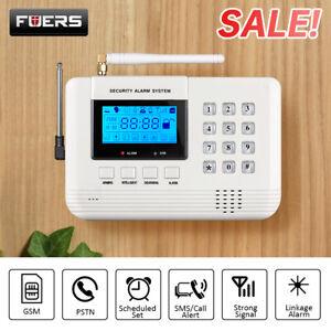 Window Door Burglar Intruder Alarms Alarm Wirelss GSM Security System PSTN GSM
