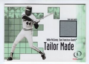 Willie-McCovey-2001-Fleer-Legacy-Tailor-Made-15-Jersey-Card-Giants