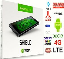 NVIDIA SHIELD K1 32GB LTE 4G ✅UNLOCKED⭐THE ULTIMATE GAMING 4K TABLET Plug & Play