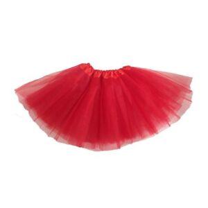 Robe-de-ballet-Jupe-de-Tutu-moderne-pour-les-filles-rouge-S1Q9