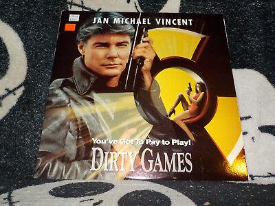 100% QualitäT Dirty Games Laserdisc Ld Januar Michael Vincent Valentina Vargas Gratis Versand üBereinstimmung In Farbe