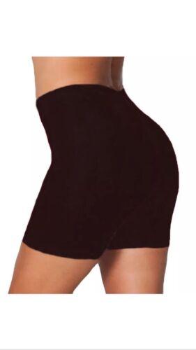 Algodón señoras Celebridad Recortada Pantalones Cortos De Correr Gimnasio Legging De Ciclismo Negro Blanco