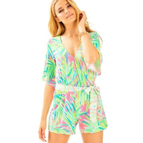Small Royal Pulitzer In Lime 889069168872 Pink Madilyn Tiki Lilly Pagliaccetto c74B88