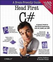 Head First C#, Andrew Stellman, Jennifer Greene | Paperback Book | 9781449343507