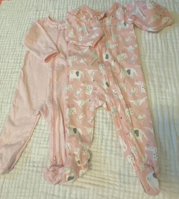 Carters Child Of Mine Fleece Footed Pajamas Sleepers Baby